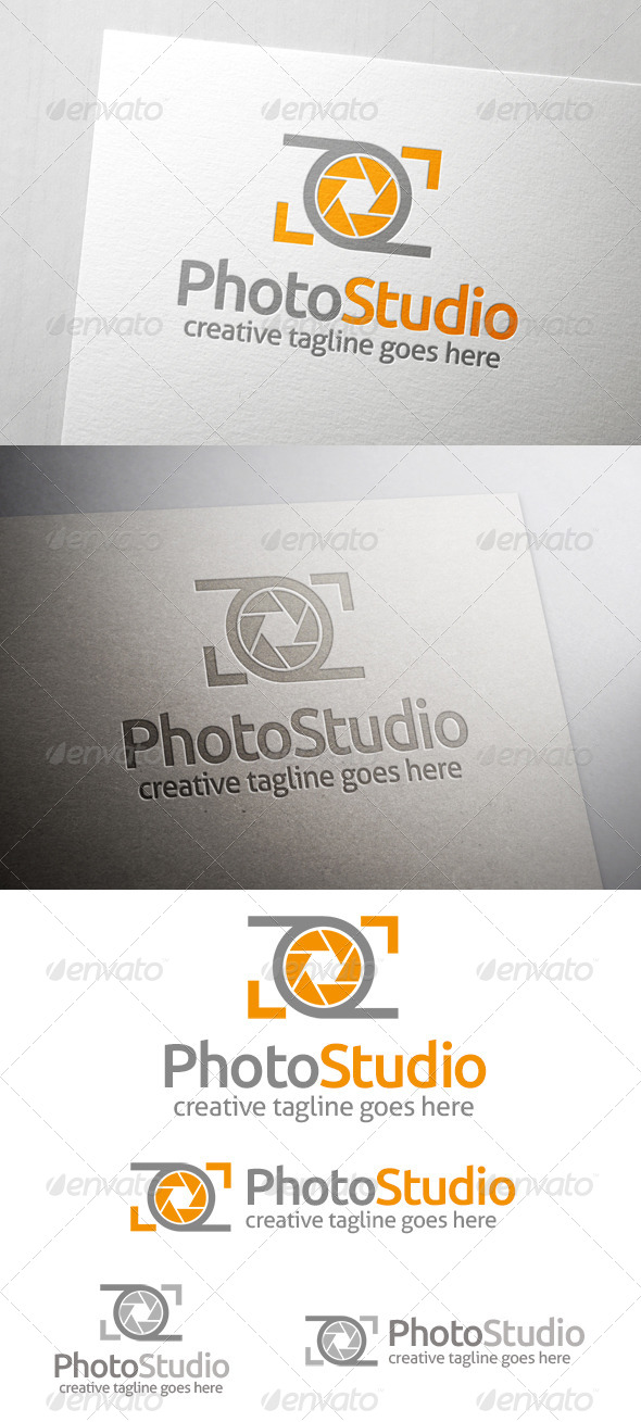 GraphicRiver Photo Studio Logo 7002618