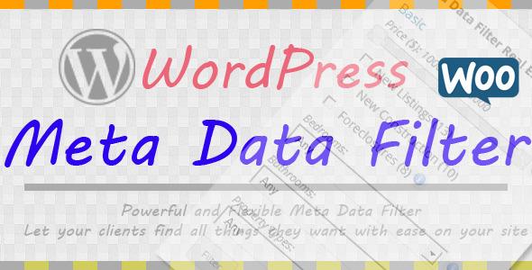 CodeCanyon Wordpress Meta Data Filter 7002700