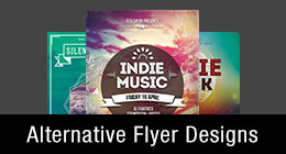 * Alternative Flyer Templates