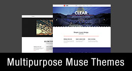 * Multipurpose Muse Themes