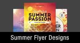 * Summer Flyer Templates
