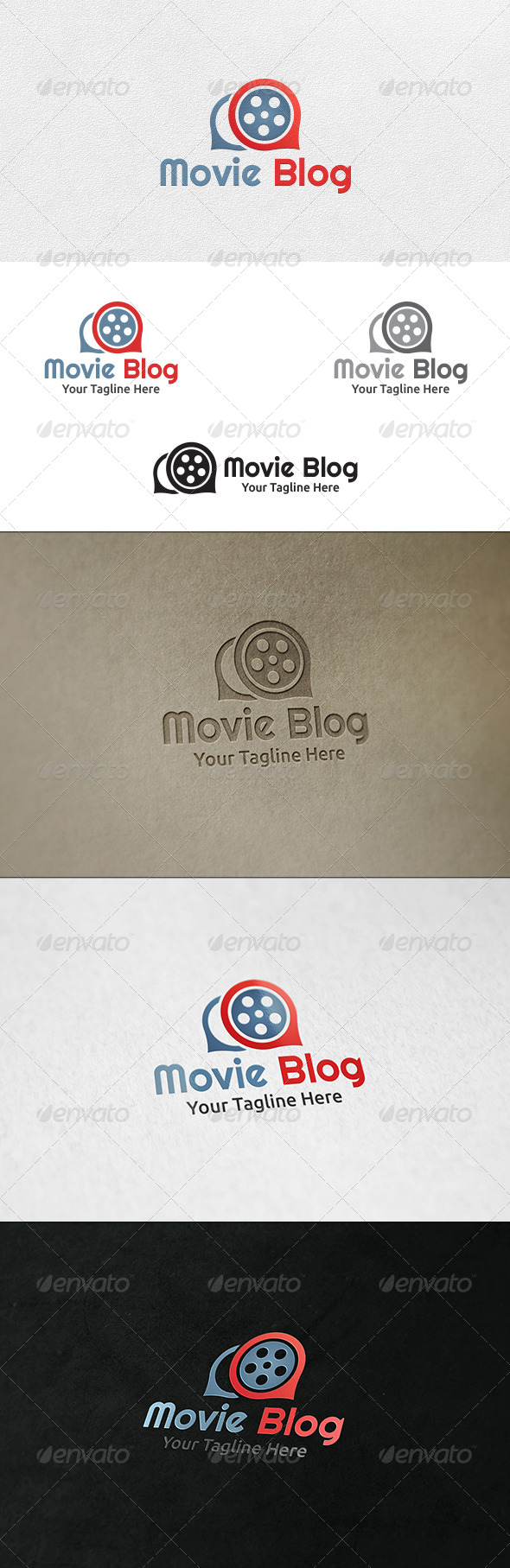 Movie Blog Logo Template