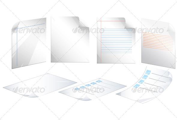 Document Icon - Illustration