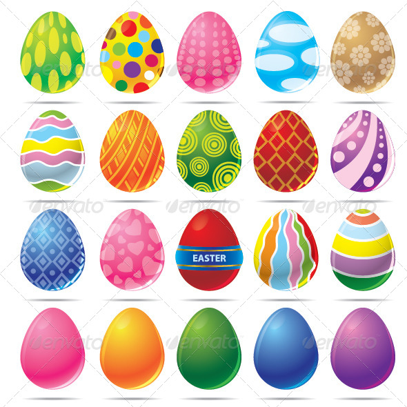 GraphicRiver Easter Egg Vector 7003581