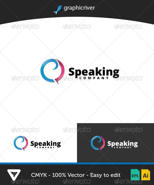 GraphicRiver Speaking Logo 7003591