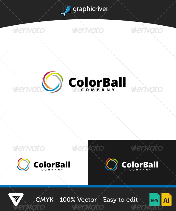 GraphicRiver ColorBall Logo 7003760