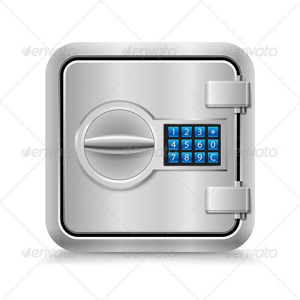 GraphicRiver Closed Safe 7003766