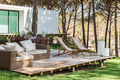 Summer house deck with chairs and sofa - PhotoDune Item for Sale