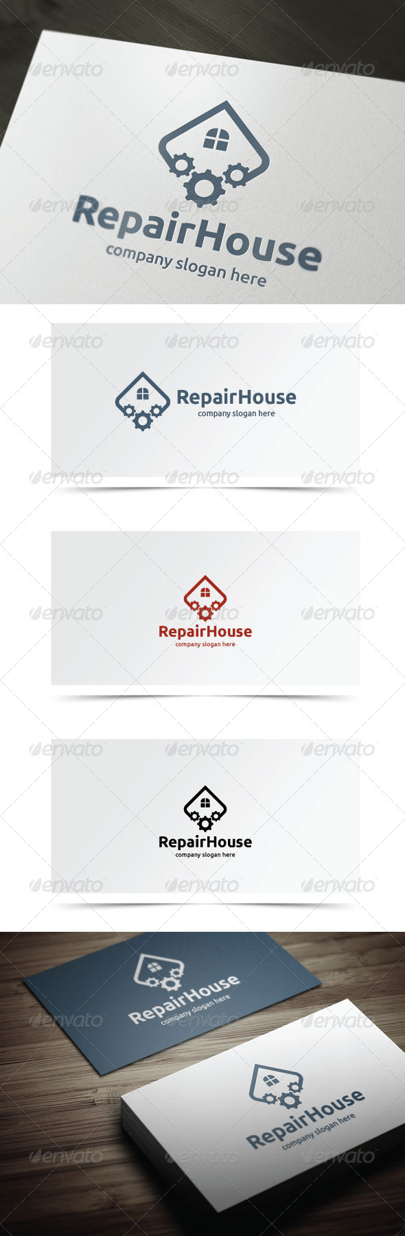 GraphicRiver Repair House 7004573