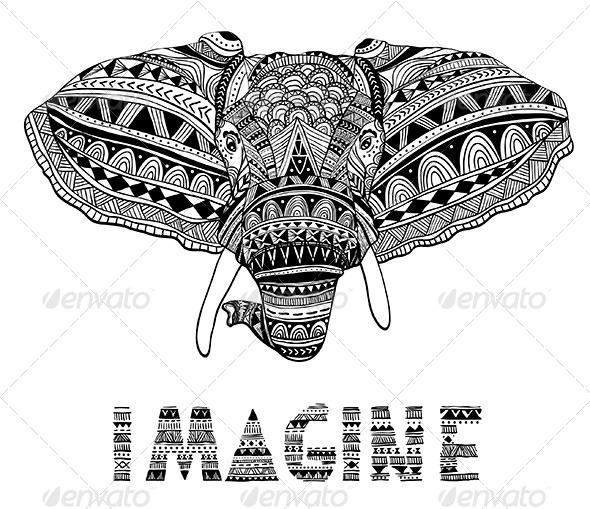 GraphicRiver Elephant 7005155