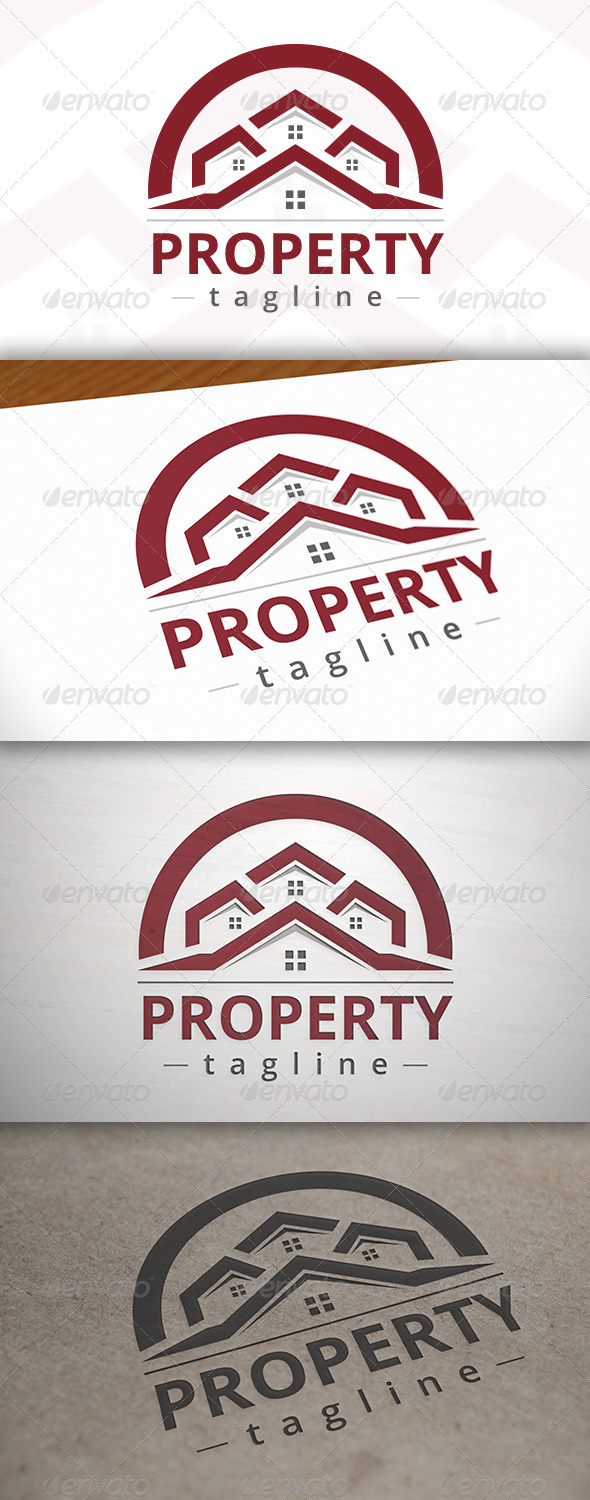 GraphicRiver Property Logo Template 7005426