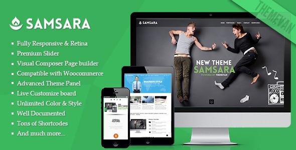 Samsara - Creative Multi-Purpose WordPress Theme - Portfolio Creative