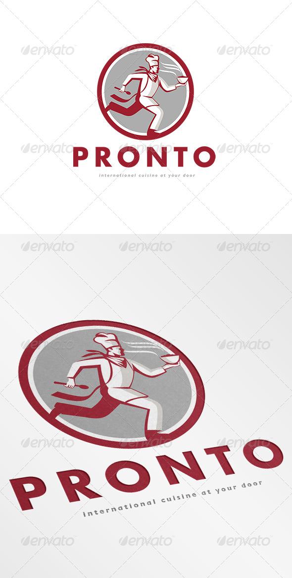 GraphicRiver Pronto International Cuisine Logo 7005800