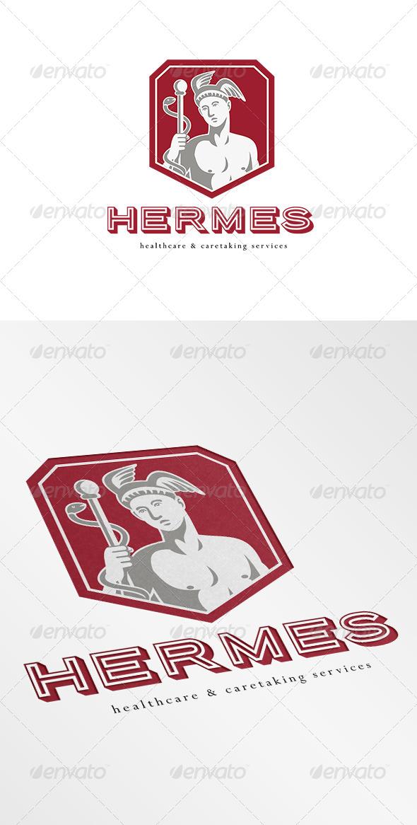 GraphicRiver Hermes Healthcare Logo 7005879