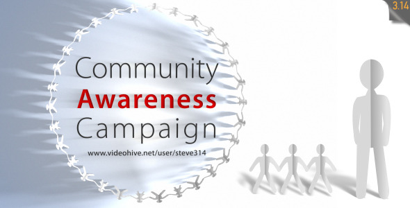 Community Awareness Campaign Human Chain Intro