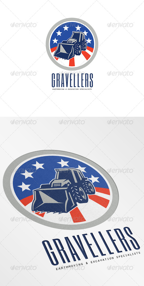 GraphicRiver Gravellers Earthmoving and Excavation Specialists 7005888