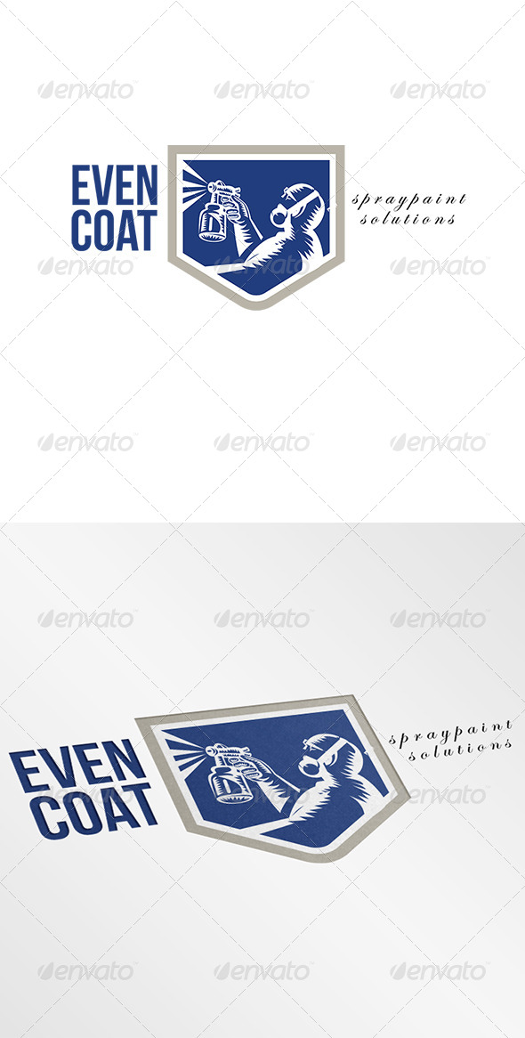 GraphicRiver Even Coat Spraypaint Solutions Logo 7005911