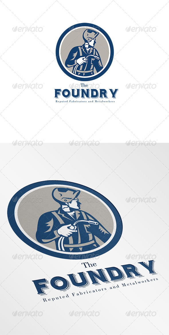 GraphicRiver Foundry Metalworkers Logo 7005917