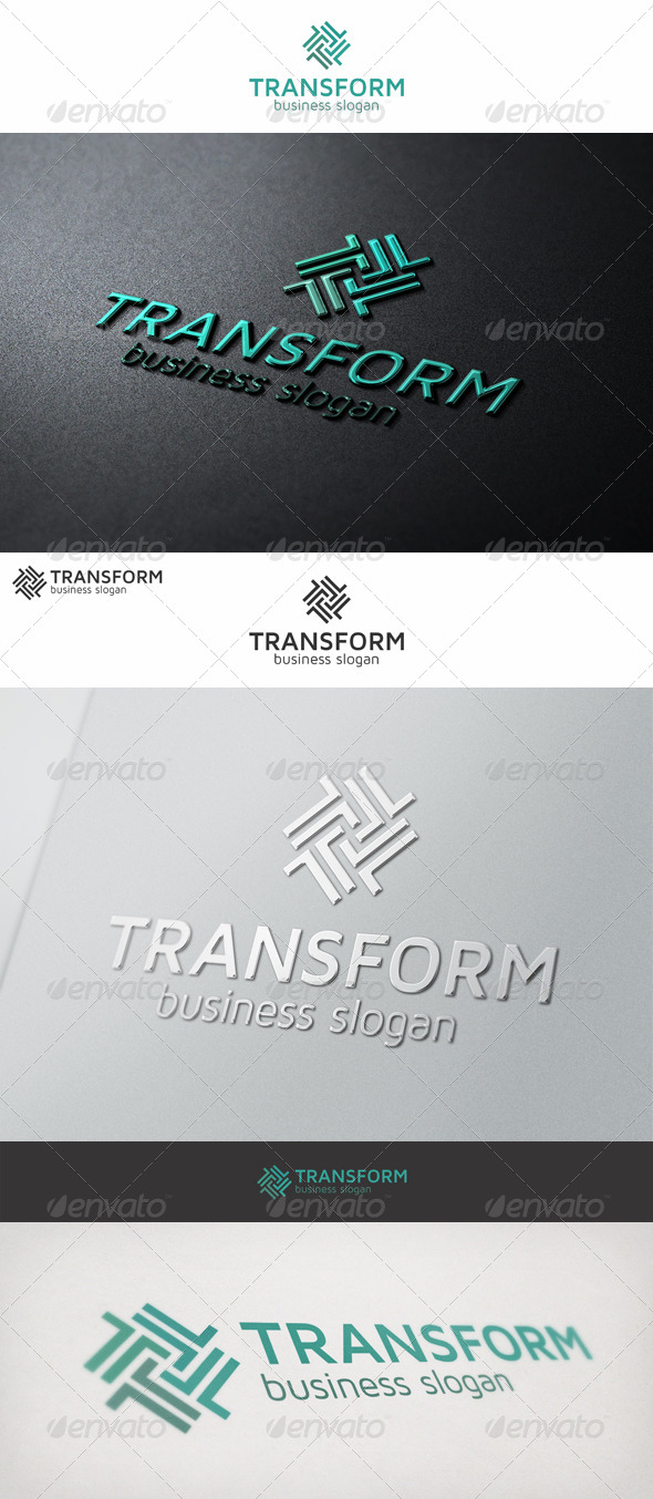 GraphicRiver Transform Logo Letter T 7006279
