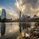 Nashville Sunset at River Front  - VideoHive Item for Sale