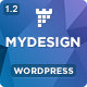 MYDesign - Onepage Multipurpose Flat WP Theme