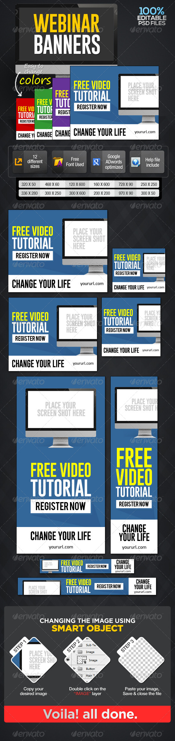 GraphicRiver Webinar Banners 7001139