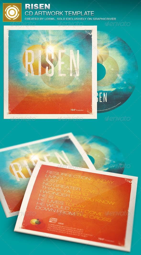GraphicRiver Risen CD Artwork Template 7007017