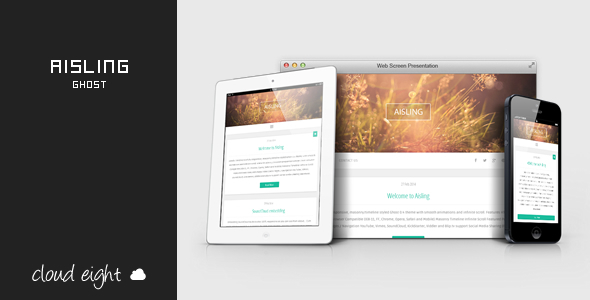 ThemeForest Aisling Responsive Ghost Theme 7007097