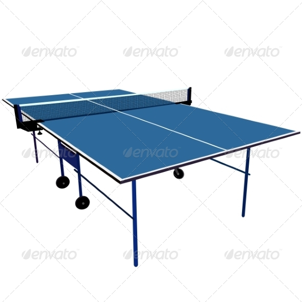 GraphicRiver Ping Pong Table 7007185