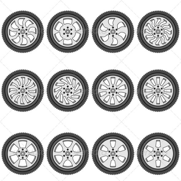 GraphicRiver Automotive Wheels 7007190