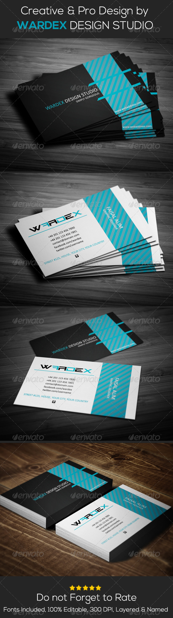 GraphicRiver Creative Business Card Design 7007297