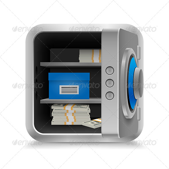 GraphicRiver Safe Full of Money 7007459