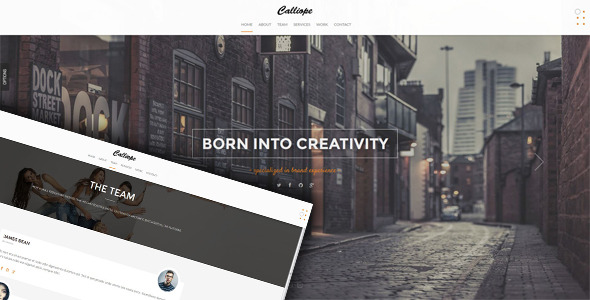 Calliope - Clean Responsive HTML5 Template