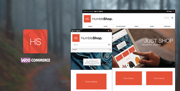 HumbleShop - Minimal Wordpress Woocommerce Theme