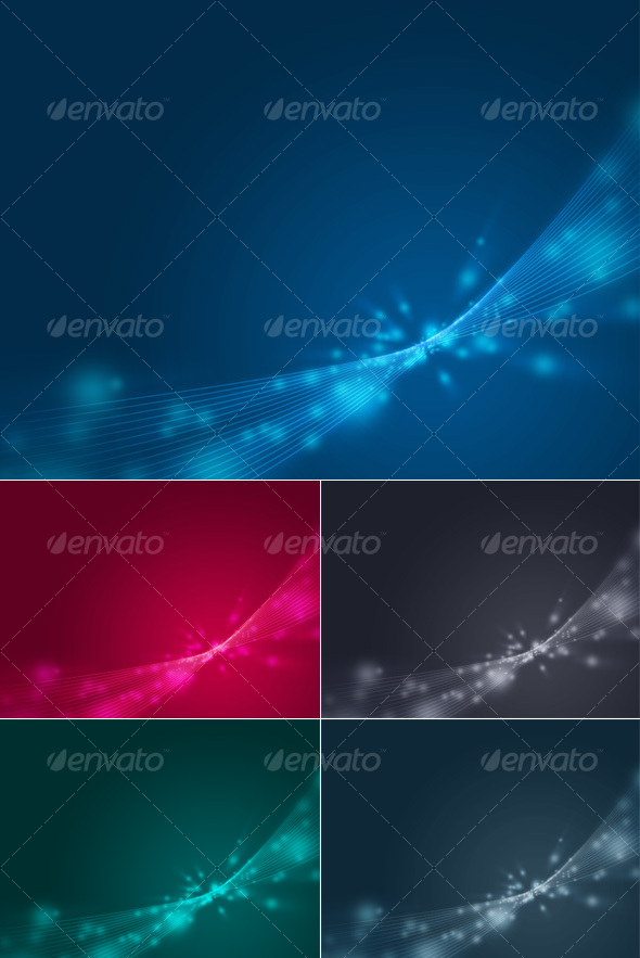 GraphicRiver Spacy Background 29704