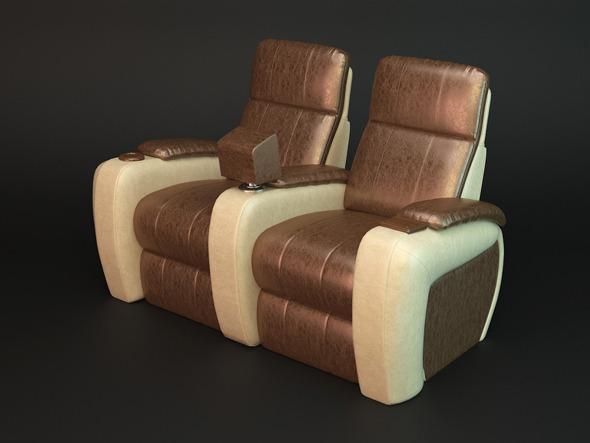 Luxury reclainer - 3DOcean Item for Sale