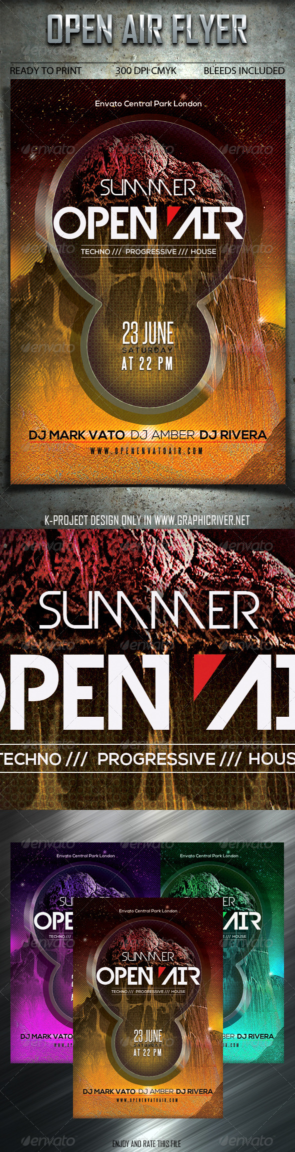 GraphicRiver Open Air Flyer 6999137