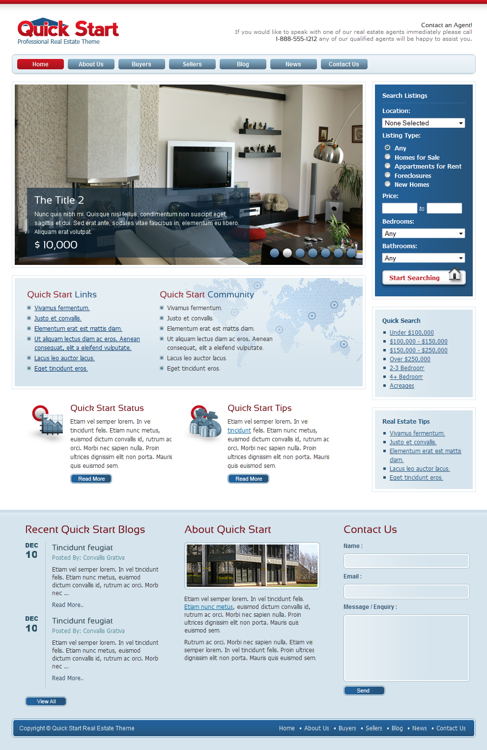 QuickStart Real Estate