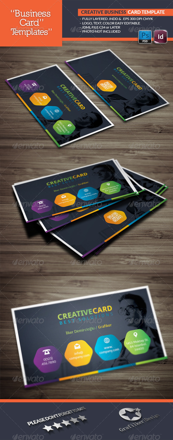 GraphicRiver Creative Studio Business Card Template 7008498