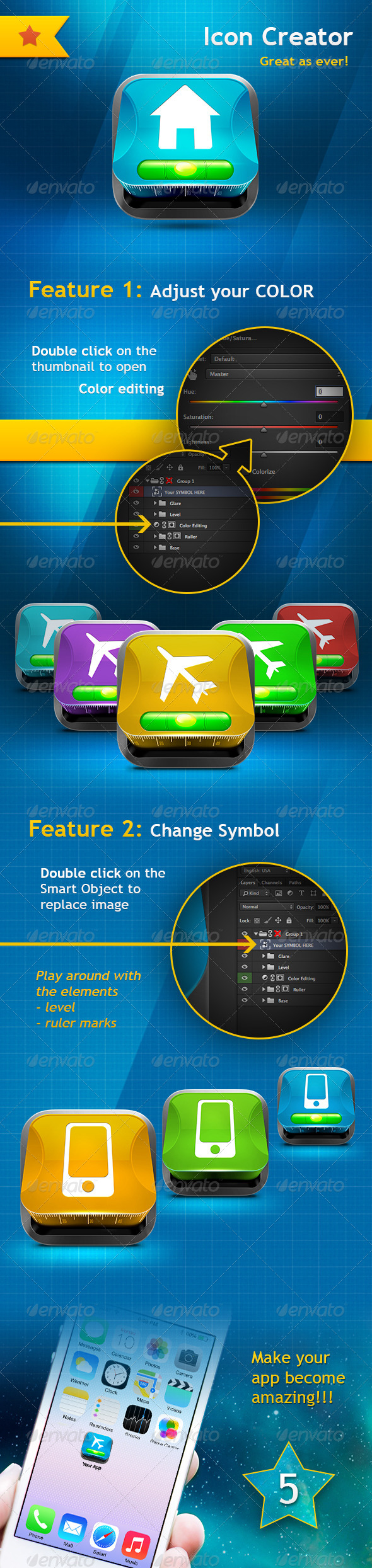 GraphicRiver Icon Creator 7008783