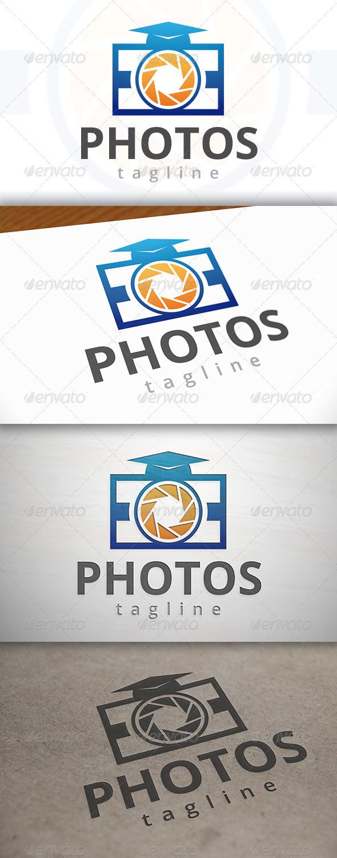 GraphicRiver Photo School Logo 7008987