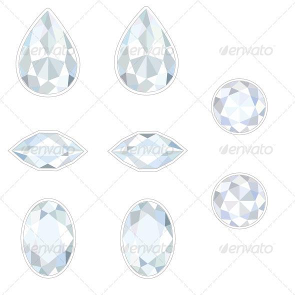 GraphicRiver Diamond Set 7009092