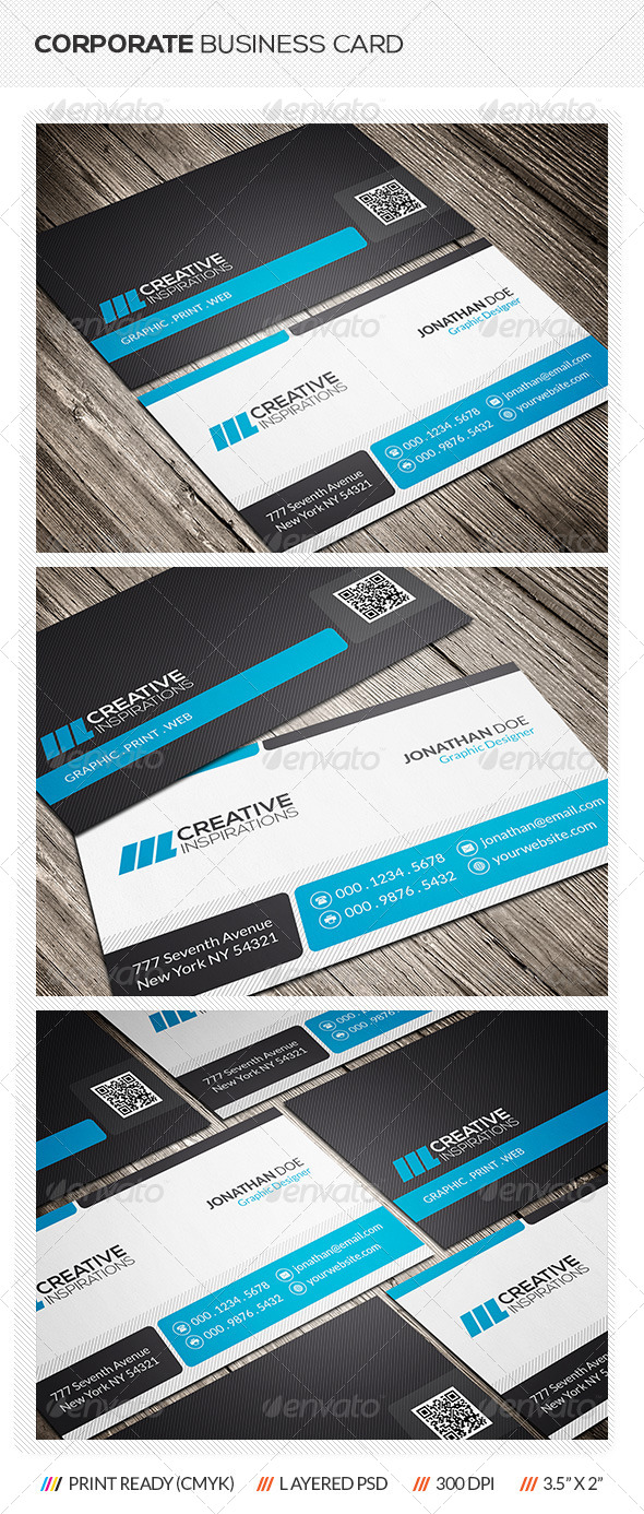 GraphicRiver Creative Corporate Business Card 7009198