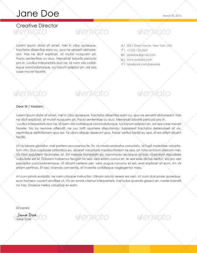 menards cover letter