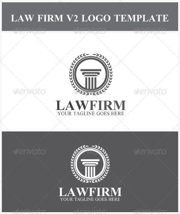 GraphicRiver Law Firm V2 Logo 7009814