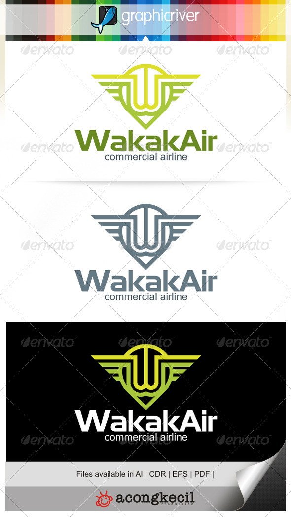 GraphicRiver Wakak Air V.3 7009836