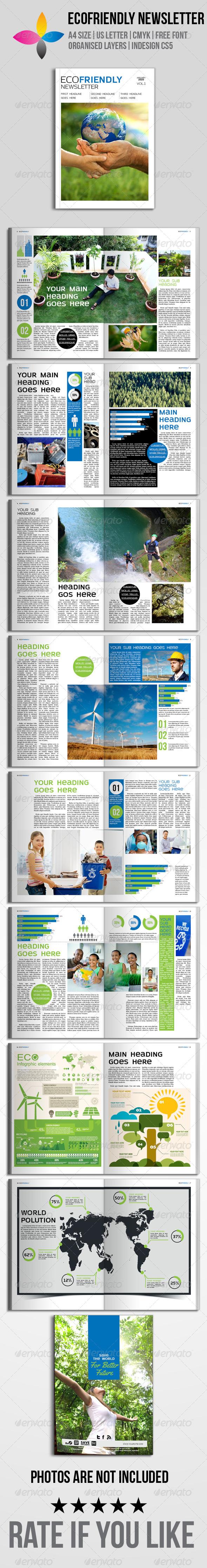 GraphicRiver EcoFriendly Newsletter 7009926