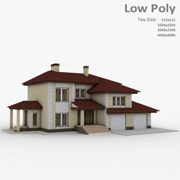 Building 025 - 3DOcean Item for Sale