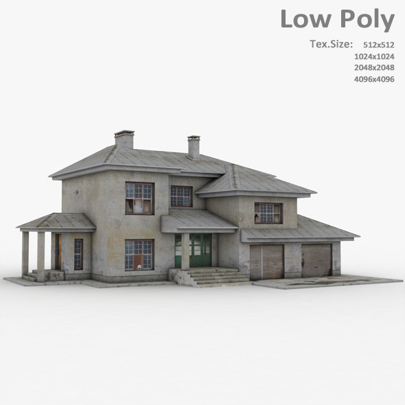 Building 026 - 3DOcean Item for Sale