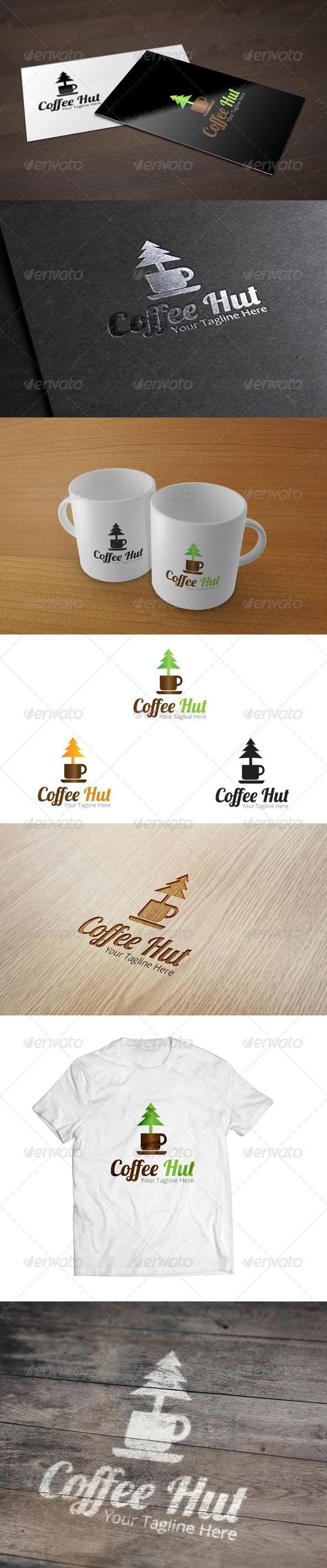 GraphicRiver Coffee Hut Logo Template 7010314